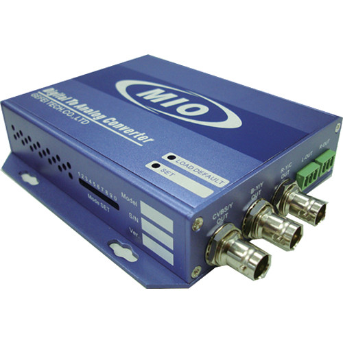 Gra-Vue MIO ENC-AUD EMBSDI to Analog Video & Dual Analog Audio Converter