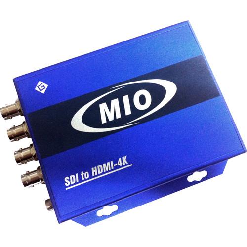 Gra-Vue MIO SDI-HDMI-4K 4-Channel HD/SD-SDI to HDMI 4K Converter