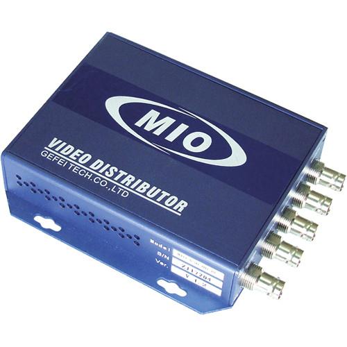 Gra-Vue 1 Input/4 Output HD/SD-SDI Re-clocking Video Distribution Amplifier