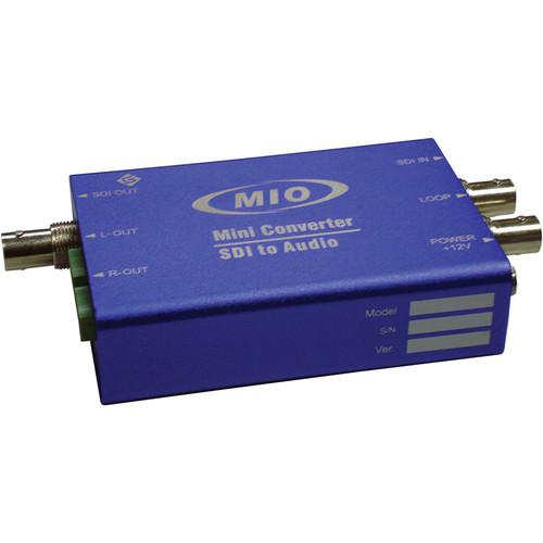 Gra-Vue MMIO DEMUX-HDSDI 3G-SDI Balanced Analog Audio De-Embedder