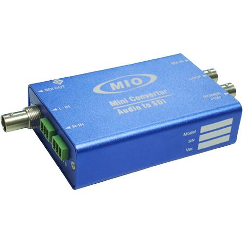 Gra-Vue 3G/HD/SD-SDI Signal & AES Digital Audio Embedder