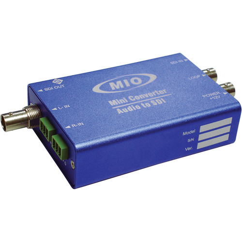Gra-Vue MIO EMB-HDSDI Dual AES Audio Embedder