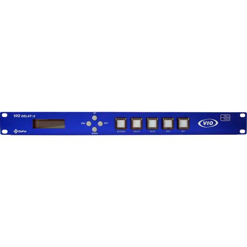 Gra-Vue VIO DELAY-X-HD180S Super 3G/HD/SD-SDI Solid Delay Line Unit (180 sec HD signal, 1RU)