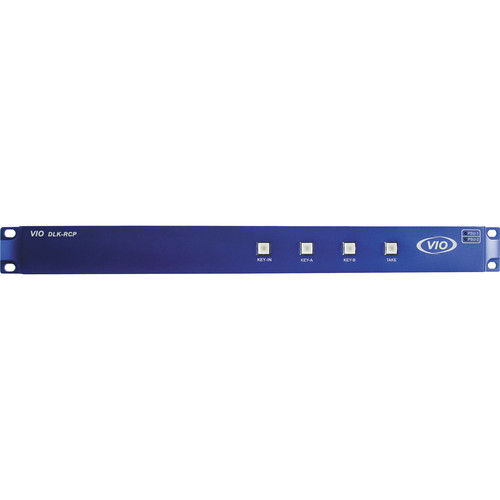 Gra-Vue VIO DLK RCP Remote Control Panel for 8 VIO DLK Dual-Channel HD/SD-SDI Keyer and Logo Generator Unit