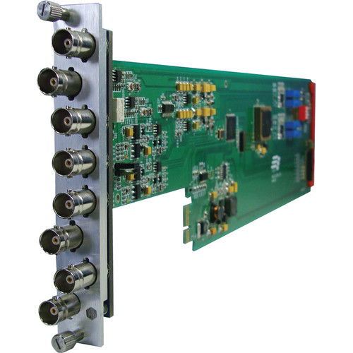 Gra-Vue Composite BNC 1 x 7 Video Distribution Amplifier (1RU)