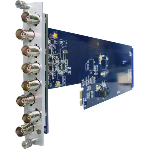 Gra-Vue XIO 9000VSD-3U 1 x 7 SD-SDI / ASI Signal Distribution Amplifier Card (for 3RU Frame)