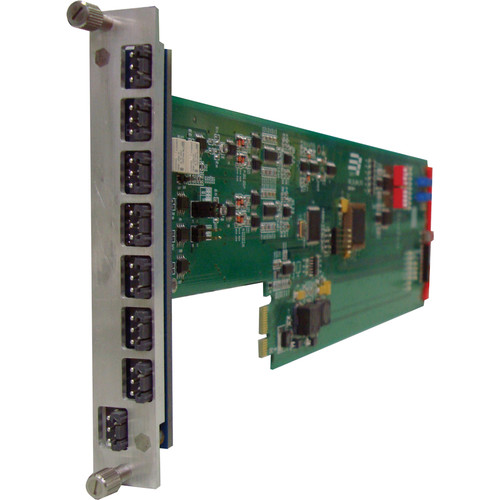 Gra-Vue XIO 9001ADA SD-SDI/ASI 2 x 6 Dual Analog Audio Distribution and Amplifier Card for a 1RU Frame