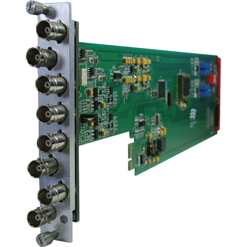 Gra-Vue XIO 9001VDA Dual 1 x 3 Analog Video Distribution Amplifier Card for 3RU Frame
