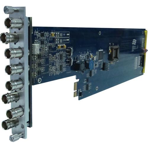Gra-Vue XIO 9001VSD-RC 2 x 3 SD-SDI / ASI Signal Distribution Amplifier with Re-clocking