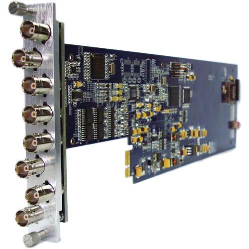 Gra-Vue XIO 9010DEC-3U Composite to SDI Converter for XIO Series Frames (3RU)