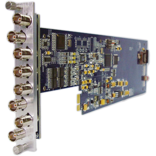Gra-Vue XIO 9010DES-3U Composite to SDI Converter for XIO Series Frames (3RU)