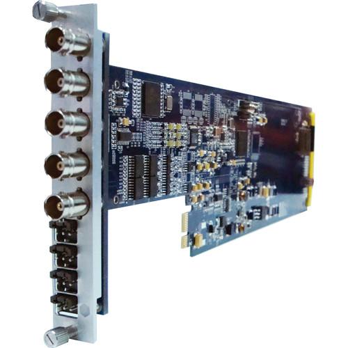 Gra-Vue SD-SDI to Composite Converter with Audio Embedding and Frame Sync (1RU)