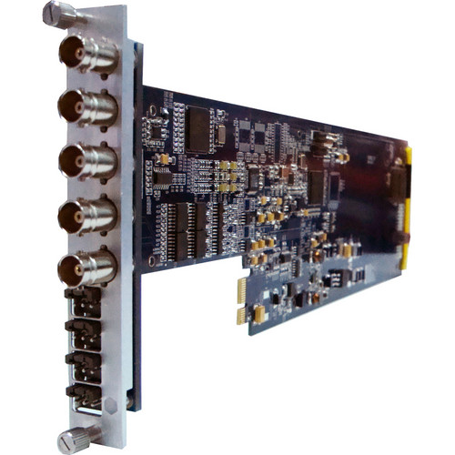 Gra-Vue SDI Signal and Analog Audio Embedder with FS and D/A