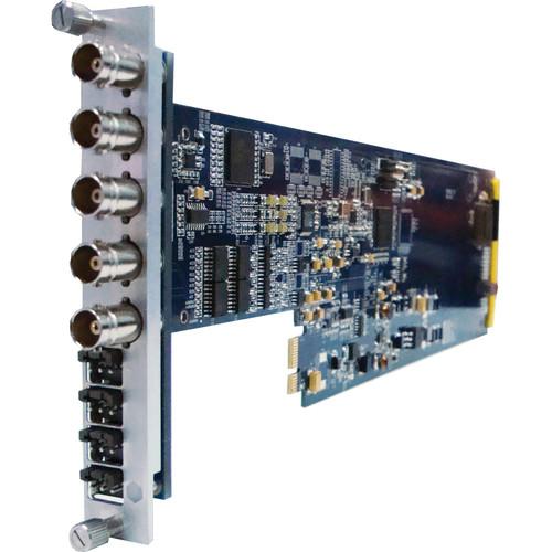 Gra-Vue SD-SDI to Composite Converter with Audio De-Embedding and Frame Sync (3RU)
