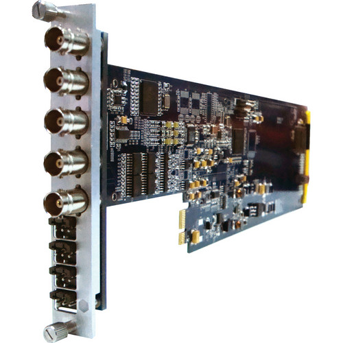 Gra-Vue XIO 9020ENS-4AUD SD-SDI to Dual Composite Video & Audio Converter with Frame Sync