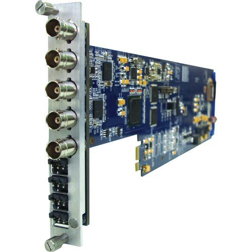 Gra-Vue XIO 9030HDDEM-4AUD-X SDI 4-Channel Analog Audio De-Embedder