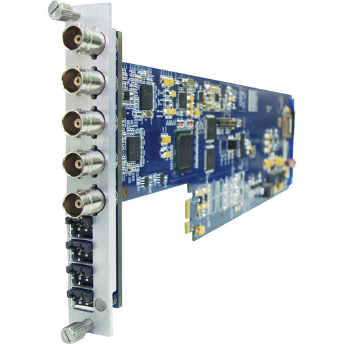 Gra-Vue XIO 9030HDEMB-2AES-FS-1U 2-Channel AES Audio Embedder with Frame Sync