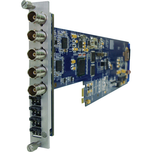 Gra-Vue XIO 9030HDEMB-4AUD-FS-1U SDI 4-Channel Analog Audio Embedder with Frame Sync
