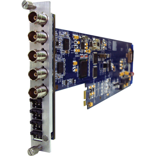 Gra-Vue XIO 9040XC-4AUD-1U SDI Cross Converter for XIO Rackmount Frame with Analog Audio Output