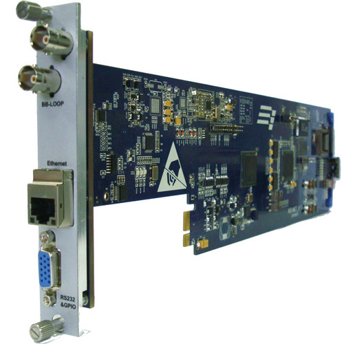 Gra-Vue XIO NET Network Monitoring & Management Interface Card for XIO 1U and 3U Chassis