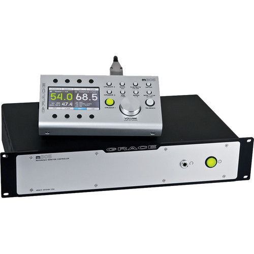 Grace Design m905 Analog Reference Monitor Controller (Silver)