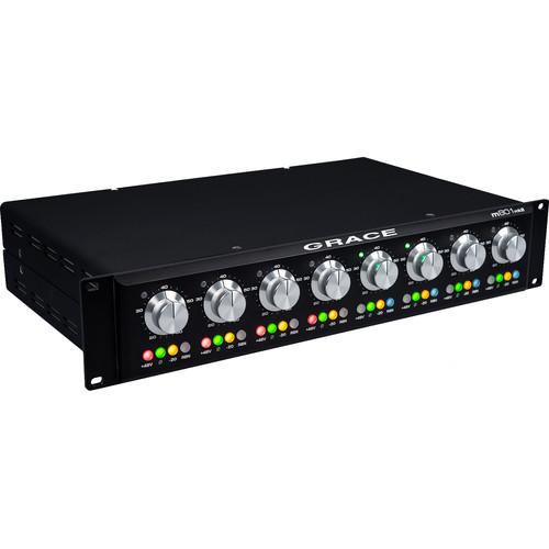 Grace Design m801mk2 Rackmount 8-Channel Microphone Preamplifier