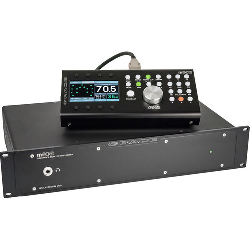 Grace Design m908 2.1 to 22.2 Multichannel Reference Monitor Controller with Remote Control