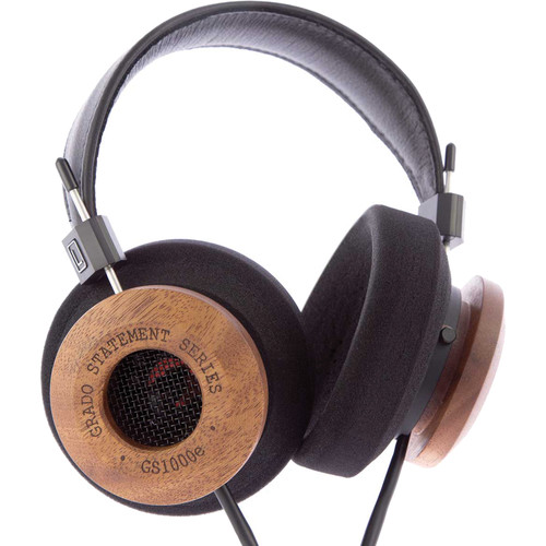 Grado GS1000e Headphones (Black and Mahogany)