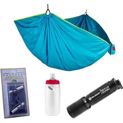 Grand Trunk Double Trunktech Hammock Essentials Kit (Caribbean Blue)