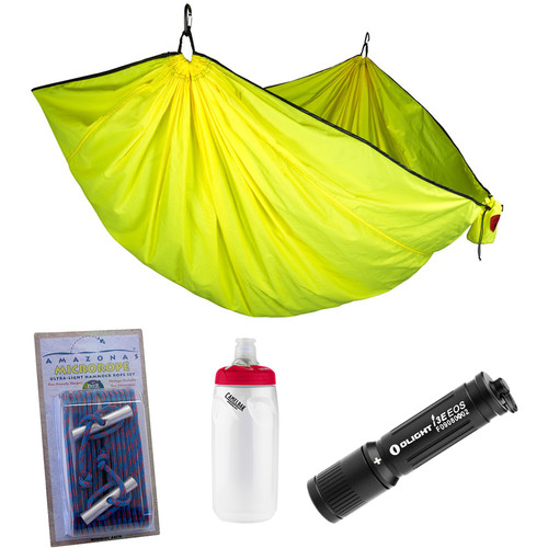 Grand Trunk Double Trunktech Hammock Essentials Kit (Citrus Yellow)