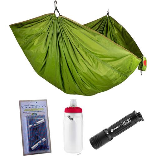 Grand Trunk Double Trunktech Hammock Essentials Kit (Moss Green)