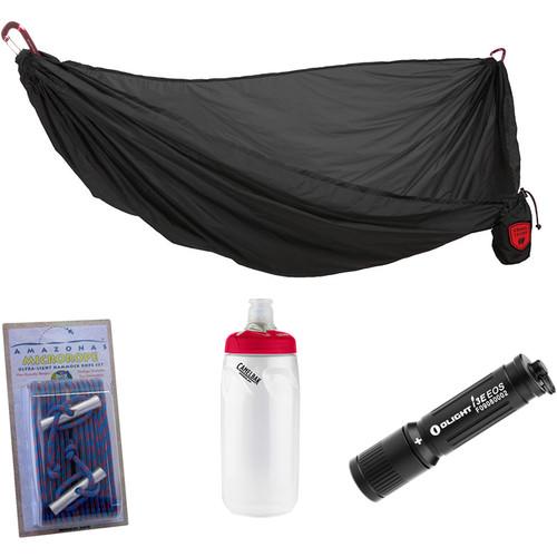 Grand Trunk Nano Hammock Essentials Kit (Black)