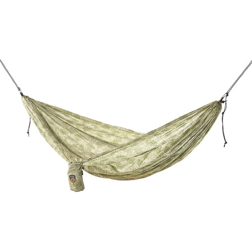 Grand Trunk Parachute Nylon Double Hammock Essentials Kit (Woodland Camo)