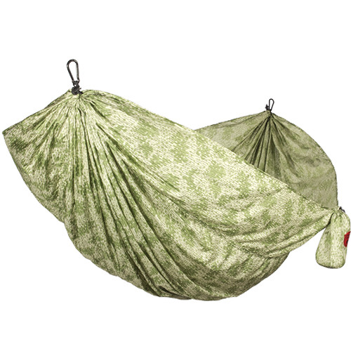 Grand Trunk Parachute Nylon Double Hammock Essentials Kit (Camouflage)