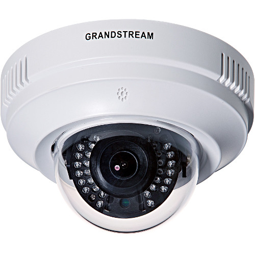 Grandstream Networks Fixed 2.8mm Indoor Dome IP Camera with IR LEDs