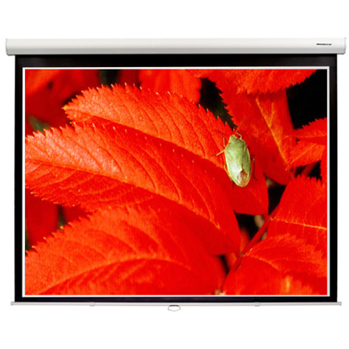"GrandView CB-PD100HWM5W Cyber 49 x 87.2"" Manual Projection Screen"