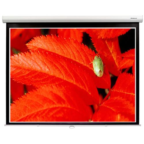 "GrandView CB-PD120HWM5W Cyber 58.8 x 104.6"" Manual Projection Screen"