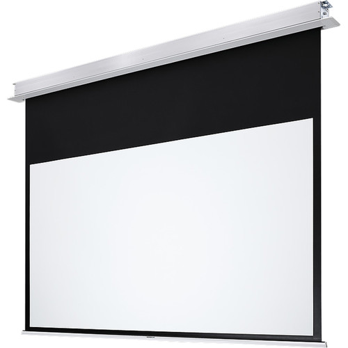 """GrandView CB-MRC123(16:10)WM5(AQCW) Ultimate Recessed 65 x 104"""" Motorized Projection Screen"""