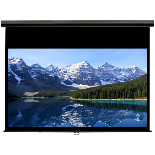 "GrandView CPD109WB5B Cyber 58 x 92"" Manual Projection Screen"