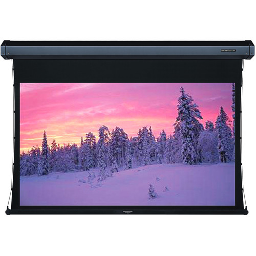 "GrandView Cyber Integrated Tab-Tension 58 x 92"" Motorized Screen (120V)"