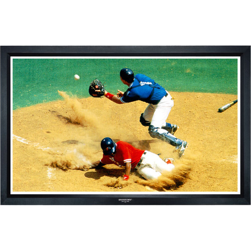"GrandView LF-PP165HWB5B Ultimate 81 x 144"" Fixed Frame Projection Screen"