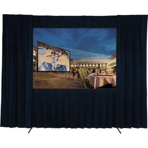 GrandView Complete Drape Kit for LS-Z94 with WW-3 Matte White Fabric & RE-3 Rear Fabric