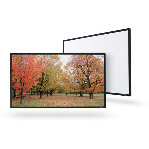 """GrandView Reference Edge Series Fixed Frame 106"""" (16:9, UHD130 Fabric & Black Case)"""