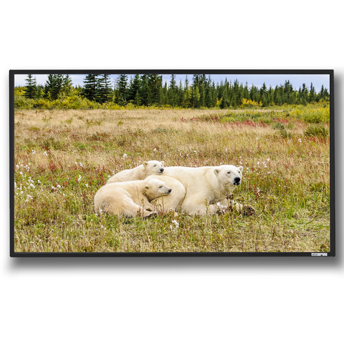 "GrandView Reference Series Edge 55 x 98"" Fixed Frame Projection Screen"