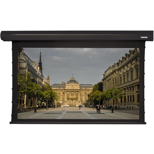 "GrandView Reference Series Cyber Integrated Tab-Tension 65 x 116"" Motorized Screen (120V)"