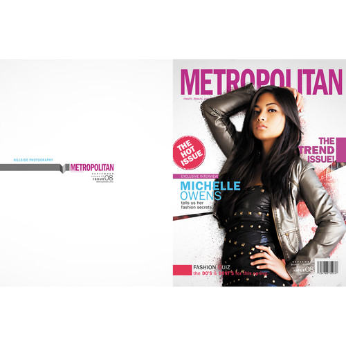 Graphic Authority Magazines Design Photoshop Template Collection