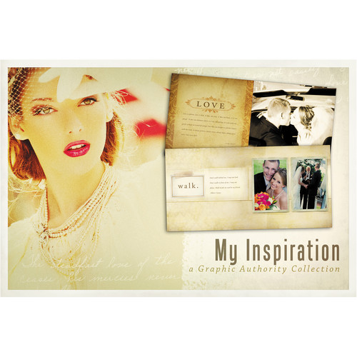 Graphic Authority My Inspiration Photoshop Template Collection