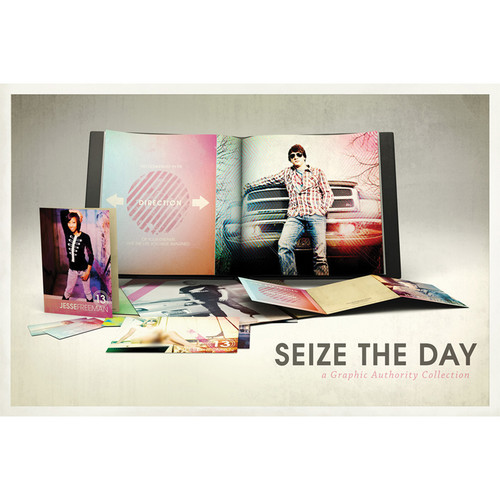 Graphic Authority Seize the Day Photoshop Template Collection