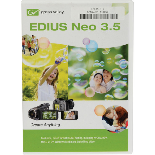 Grass Valley EDIUS Neo 3.5 (Boxed Set)