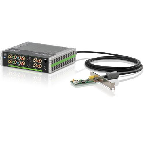 Grass Valley STORM Mobile Multi I/O Processor with PC1e and EDIUS Pro 7 NLE (Breakout Box)